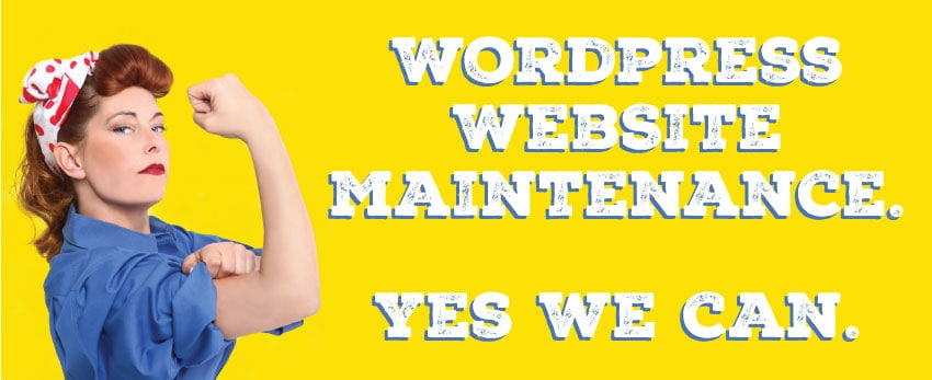 What We Do: WordPress Maintenance