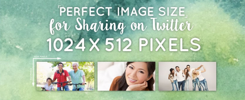 Perfect image sizes for sharing on twitter