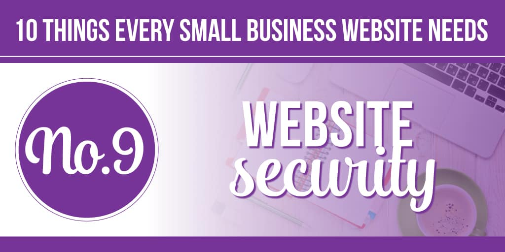 10 things your small business website needs