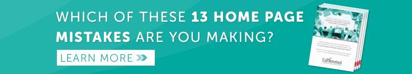 13-point home page checklist